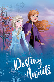 Poster Frozen 2 - Destiny Awaits