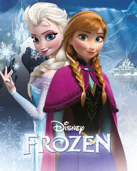 Pôster Frozen - Anna and Elsa