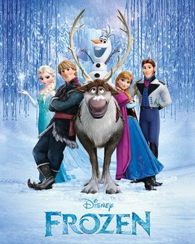Frozen - Cast Poster, Art Print