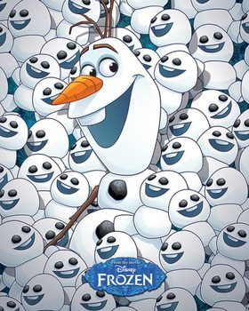 Frozen Fever - Olaf & baby Olafs Poster