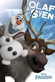 Poster Frozen - Olaf and Sven