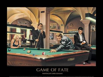 Game of Fate - Chris Consani Art Print
