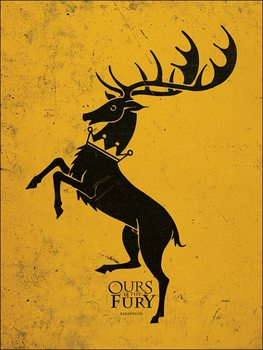 Game of Thrones - Baratheon Art Print