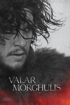 Pôster Game of Thrones - Jon Snow