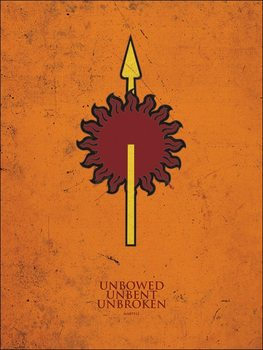 Game of Thrones - Martell Art Print