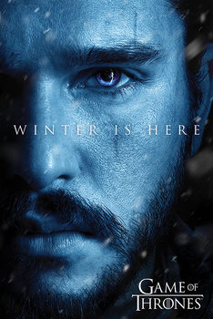 Poster Game Of Thrones: Winter is Here - Jon
