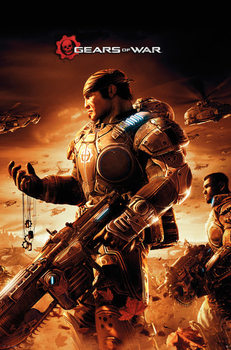 Gears Of War - Armour Poster