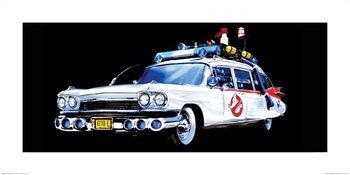 Ghostbusters - Car Art Print