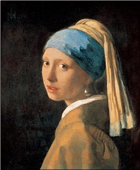 Girl with a Pearl Earring,1665 Art Print