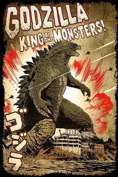 Pôster Godzilla -  King of the Monsters