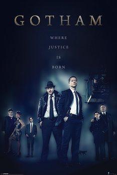 Gotham - Justice Poster, Art Print