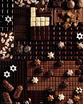 Gourmet chocolate Poster
