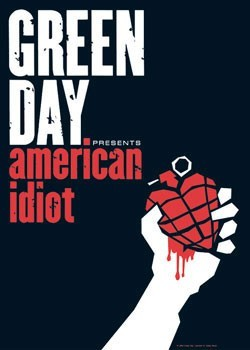 Green Day - American Idiot Poster