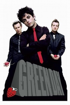 Green Day - block Poster