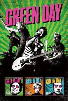Green Day – uno!dos!tre! Poster