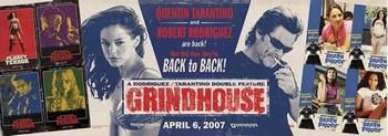 Poster GRINDHOUSE - back to back