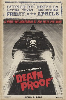 Poster GRINDHOUSE - car