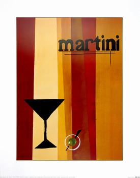 Groovy Martini I Art Print