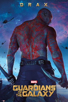 Poster Guardians of the Galaxy - Drax