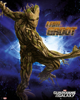Pôster Guardians of the Galaxy - Groot