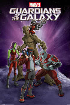 Poster Guardians Of The Galaxy - Group