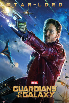 Poster Guardians of the Galaxy - Star Lord