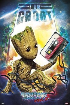 Poster Guardians Of The Galaxy Vol 2 - Groot
