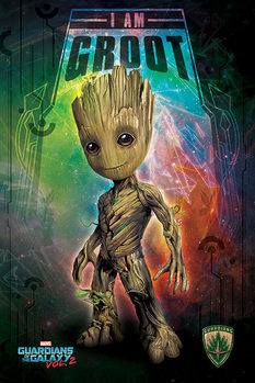 Poster  Guardians of the Galaxy Vol. 2 - I Am Groot
