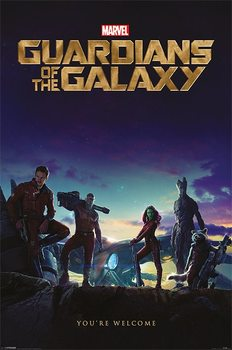 Poster Guardians of the Galaxy - You're Welcome