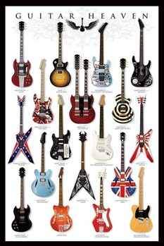 Pôster Guitar heaven