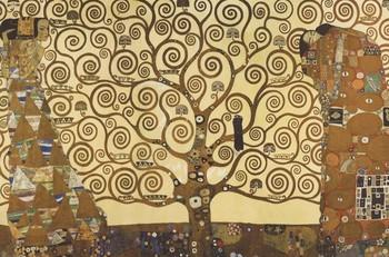 Pôster Gustav Klimt - Árvore da vida