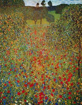 Gustav Klimt - Il Prato Art Print