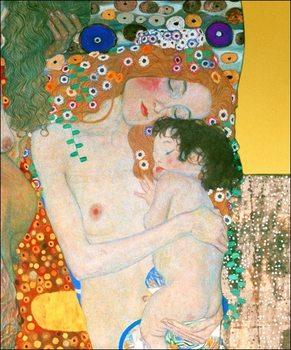 Gustav Klimt - Le Tre Eta della Vita Art Print