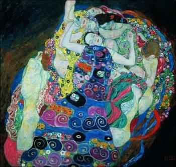 Gustav Klimt - Le Vergini Art Print