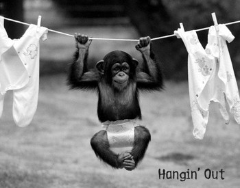 Hangin out Poster