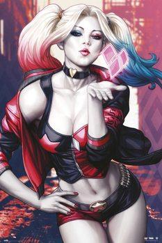 Harley Quinn - Kiss Poster