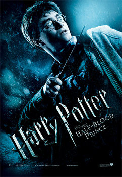 Pôster Harry Potter and the Half-Blood Prince - Harry with Magic Wand