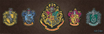 Poster  Harry Potter - Crests