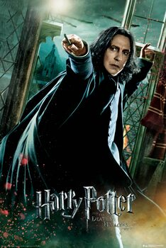 Poster Harry Potter - Deathly Hallows - Snape