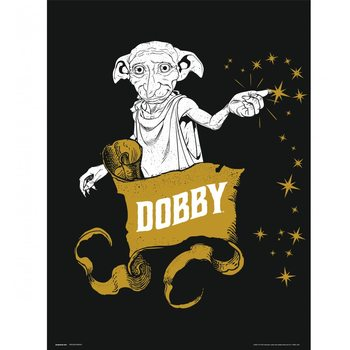 Harry Potter - Dobby Art Print