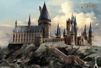 Poster Harry Potter - Hogwarts Day