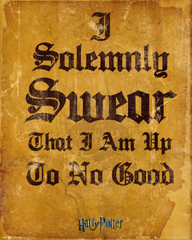 Pôster Harry Potter - I Solemnly Swear