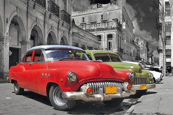 Havanna Cuba - classic cars Poster