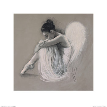 Hazel Bowman - Angel Wings IV Art Print