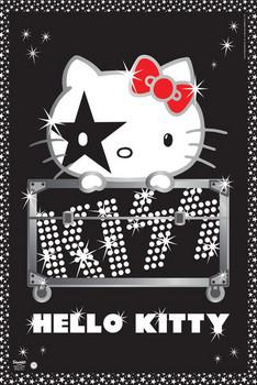 Poster HELLO KITTY - kiss tour