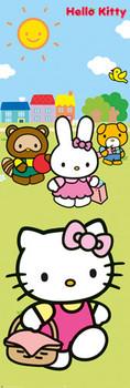Poster HELLO KITTY - picnic