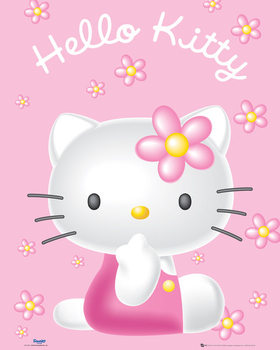 Pôster Hello Kitty - Pink