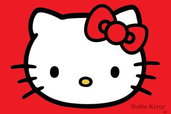 Poster Hello Kitty - Red