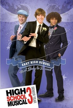 HIGH SCHOOL MUSICAL 3 - boys Poster