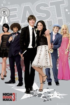 HIGH SCHOOL MUSICAL 3 - east high Poster